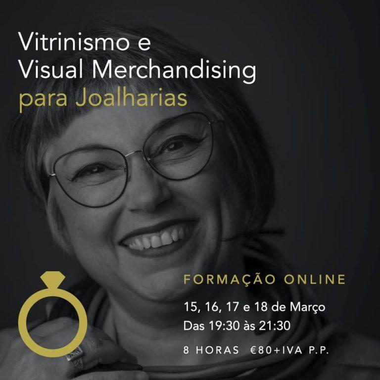 Imagem da notícia: Regina Pinheiro com curso de vitrinismo para joalharias