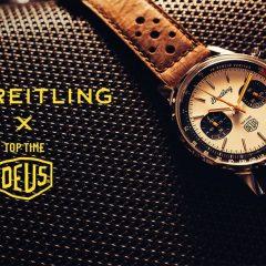 Imagem da notícia: Breitling e Deus Ex Machina com nova parceria