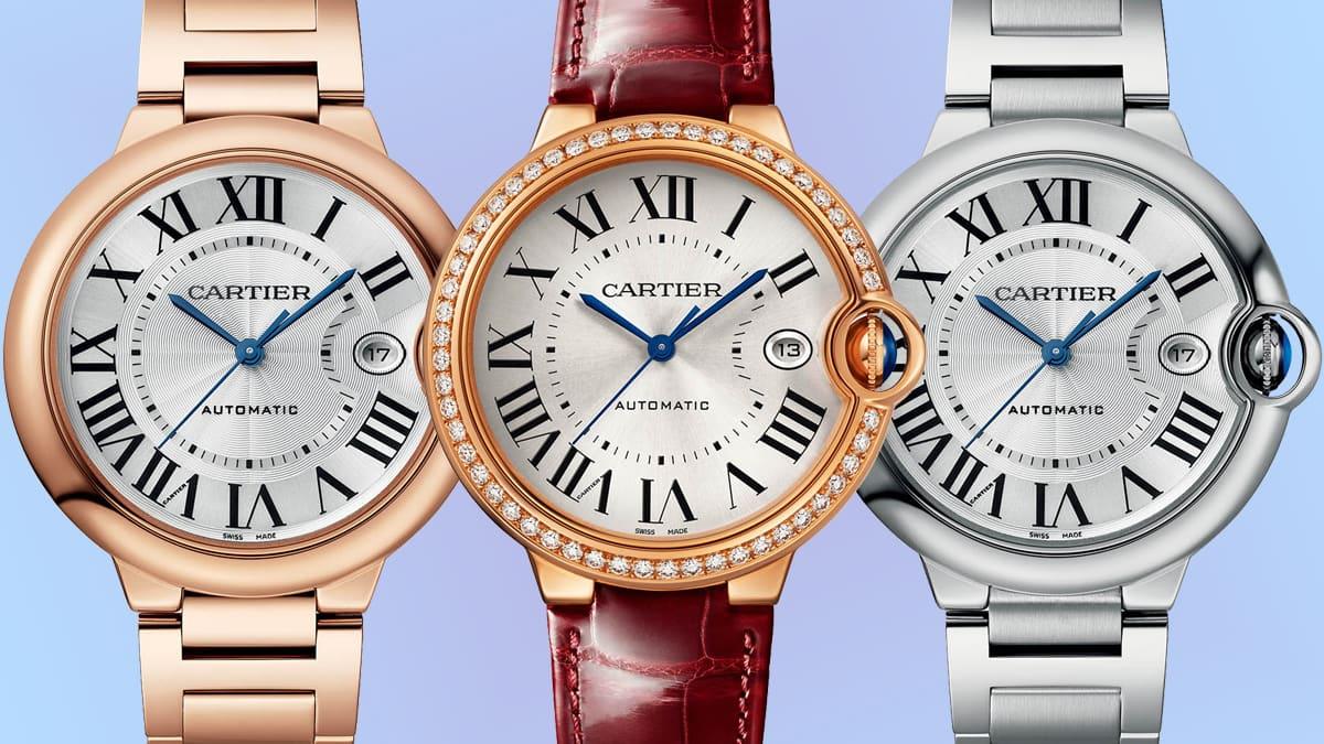 Imagem da notícia: Cartier: Ballon Bleu de Cartier com seis novos modelos