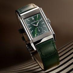 Imagem da notícia: Jaeger-LeCoultre apresenta Reverso Tribute Small Seconds Green