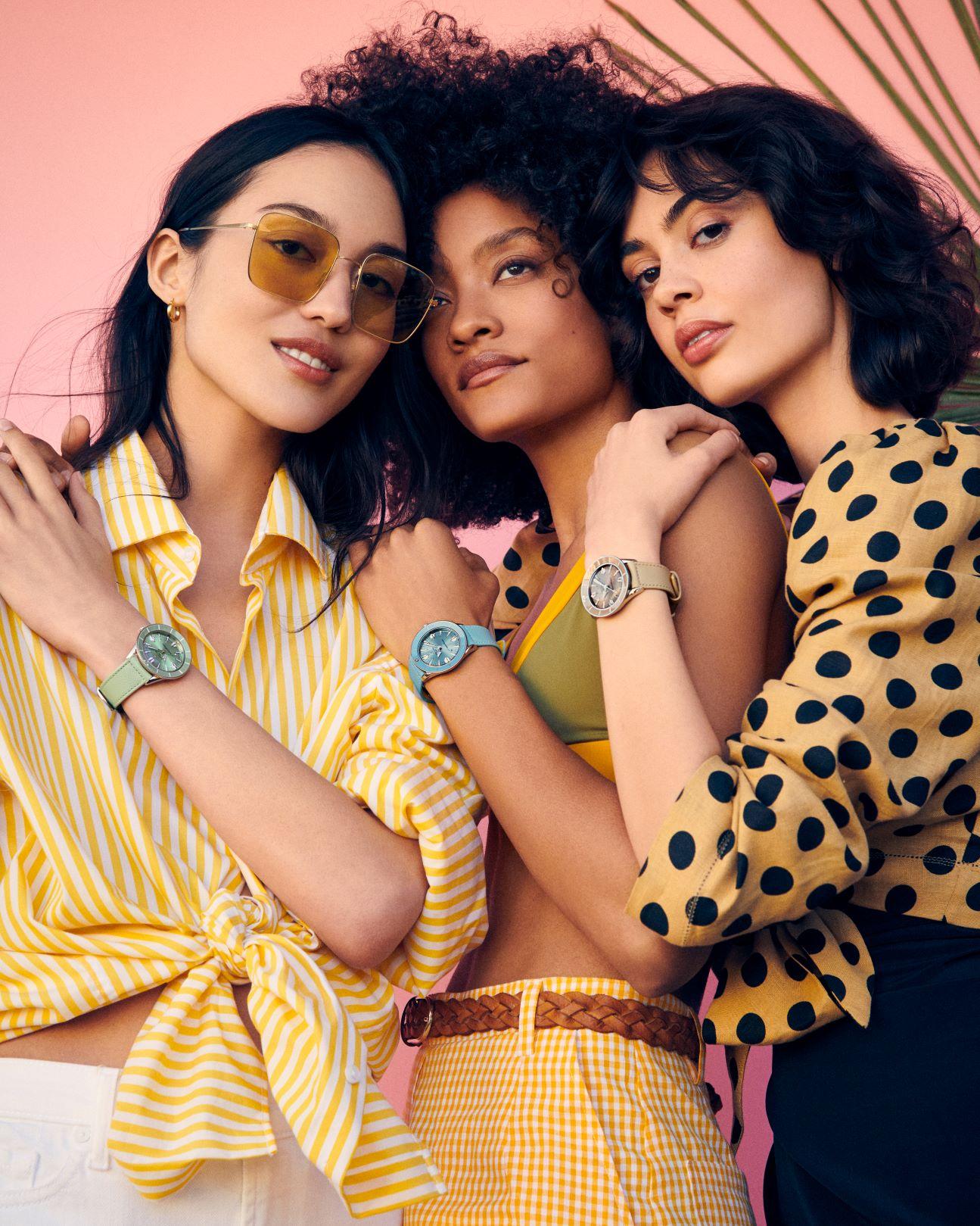 Imagem da notícia: Breitling lança relógio inspirado no verão: SuperOcean Heritage '57 Pastel Paradise