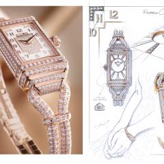 Imagem da notícia: Jaeger-Lecoultre mostra o Reverso One Cordonnet Duetto Jewellery