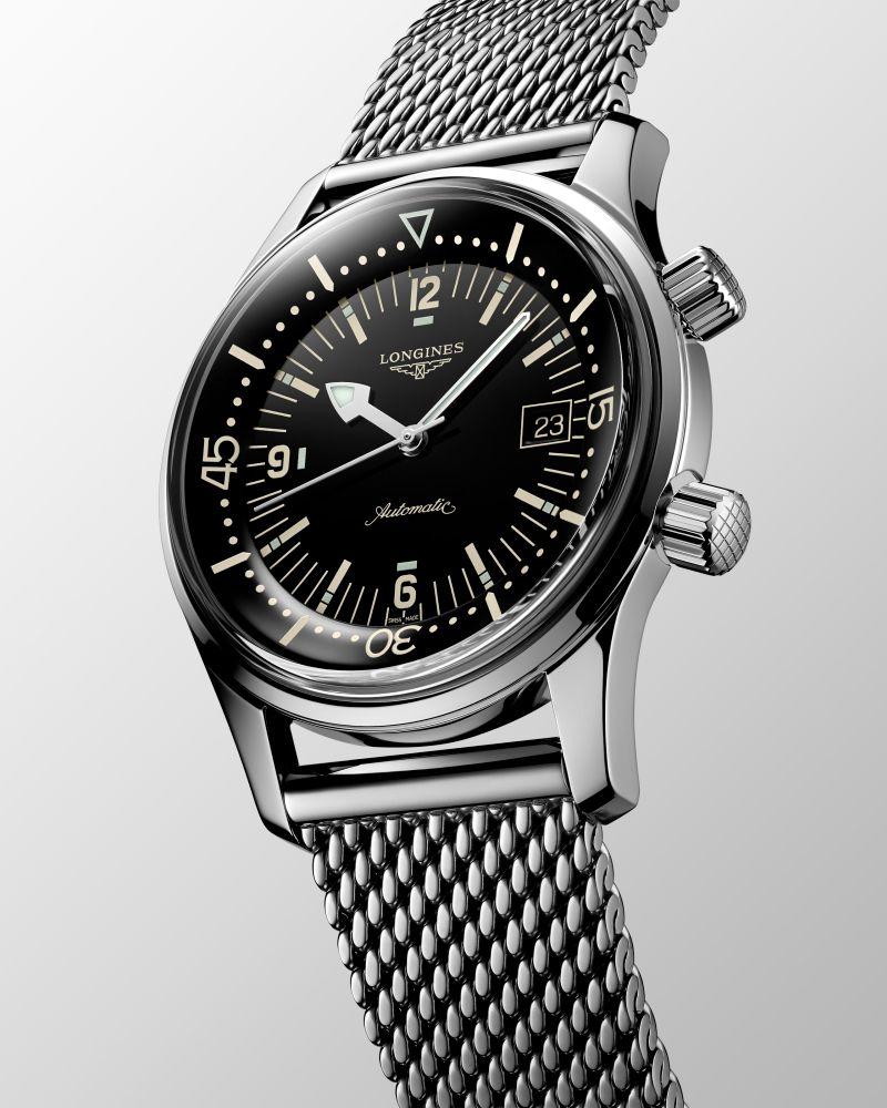 Imagem da notícia: The Longines Legend Diver Watch, a reinterpretação do relógio de mergulho de 1960
