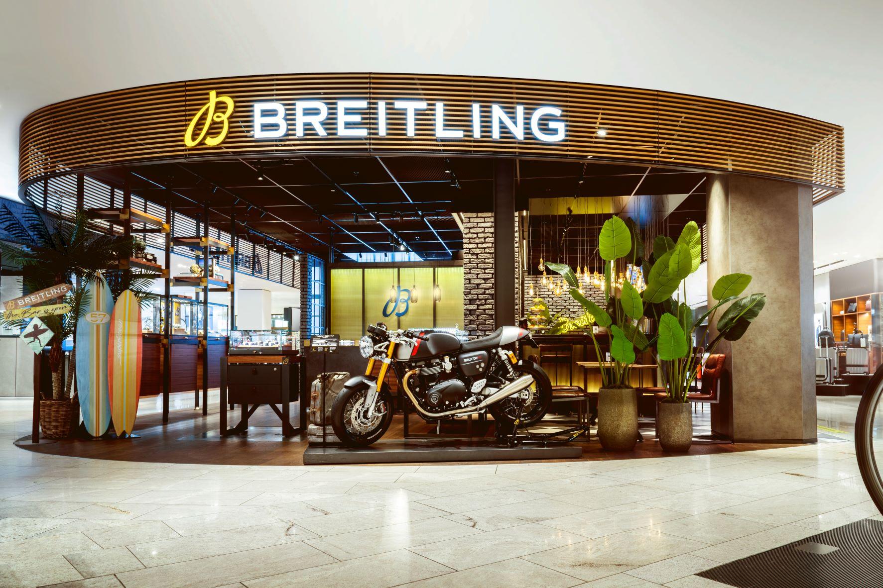 Imagem da notícia: Breitling e Triumph anunciam parceria