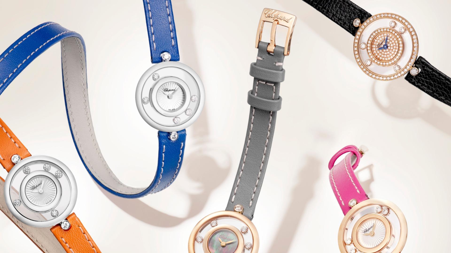 Imagem da notícia: Chopard: diversão e diamantes no novo relógio Happy Diamonds