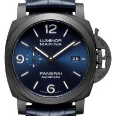 Imagem da notícia: Panerai apresenta Luminor Marina Carbotech Blu Notte